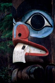 Beaver Totem 204 by Patrick O'Leary