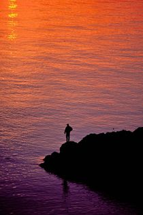 Sunset Watcher 205 by Patrick O'Leary