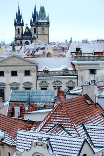 Prague rooftops by Bianca Baker