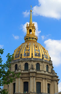 Gilded Dome by Louise Heusinkveld