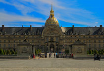 Invalides, Paris by Louise Heusinkveld