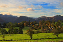 Lake District Village von Louise Heusinkveld