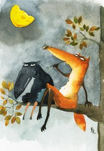 Crow und Käse by Yana Kachanova