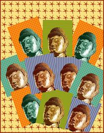 Pop Buddhas von Ipso Imago