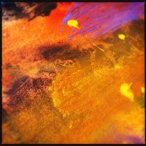 Paintscape: Orange by Kate England