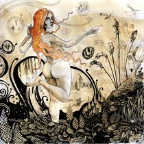 Hyacinthine Pond by Sylwia Cader