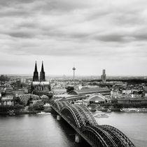 Köln Skyline #02 von Nina Papiorek