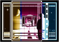 Panoramafenster zu den Sternen. von Bernd Vagt