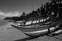 Boats, Beruwala Beach, Sri Lanka von reorom
