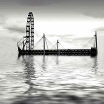 Watery (London) Eye von sharon lisa clarke