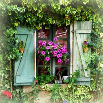 Sweet Window Dressing by Lainie Wrightson
