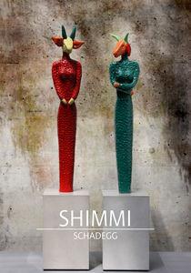 farbige Fabelwesen mit Headline von Shimmi Schadegg