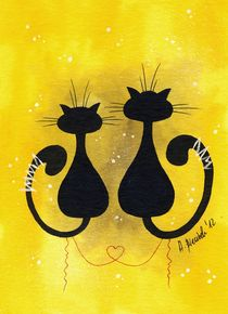 Cats in Love von Anna Bieniek