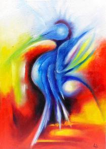Blauenfantasie von Lydia  Harmata