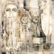 woman collage von Christine Lamade