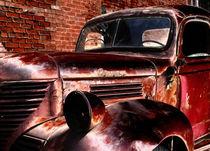 Red Truck von Mary Lane