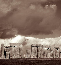 Stonehenge Storm by Mary Lane