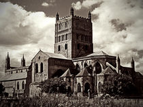 Tewkesbury Abbey by Mary Lane