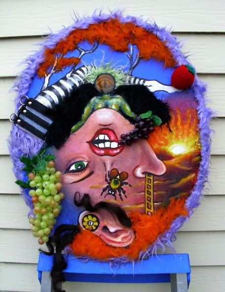 Happy-colored-marbles-acrylic-paints-and-multimedia-assemblage-on-canvas-may-2012-john-lanthier