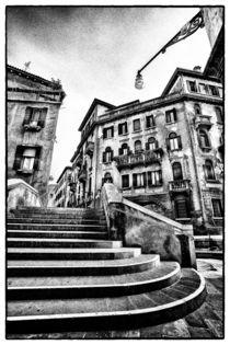 Treppenaufgang in Venedig von Matthias Töpfer