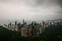 Wolken über Hong Kong by Eduard Warkentin