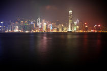 Hong Kong Skyline by Eduard Warkentin