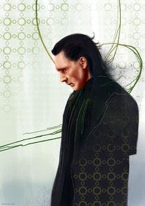 Loki of Asgard by Anna Khlystova
