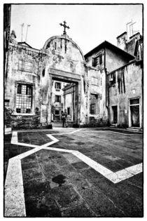 Venezianischer Innenhof von Matthias Töpfer