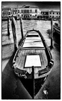 Altes Boot auf Murano von Matthias Töpfer