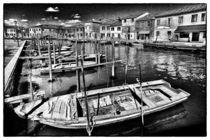 Boote auf dem Kanal by Matthias Töpfer