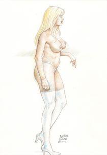 nude girl by Natanael Fuentes