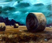 Strohballen by Daniel Wimmer