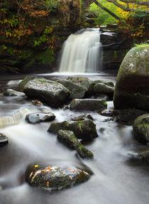 Thomasson Foss Waterfall Goathland by Martin Williams