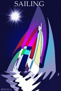 Sailing. by Bernd Vagt