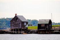 Maine Docks von Bianca Baker