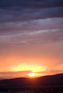 Sunset in Gelendzhik von Boris Ulzibat