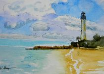 Cape Florida Lighthouse von Warren Thompson