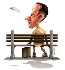 Forrest Gump Caricature von Renan Lima