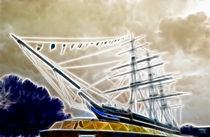 Cutty Sark Greenwich Fractals by David J French