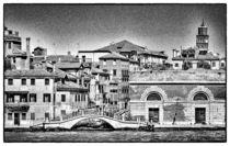 Venezianische Hausfassaden von Matthias Töpfer
