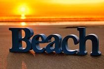 Beach Sunset Scotland von Derek Beattie