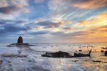 Saltwick Bay Sunrise by Martin Williams