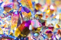 Colored Quartz crystals - Kristalle