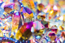 Colored Quartz crystals - Kristalle von Tobias Pfau