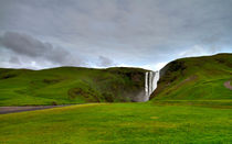 Skogafoss Waterfall - Inspired by Iceland by Víctor Bautista