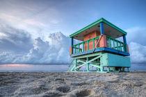 Miami LifeGuard Tower 3 von Martin Williams