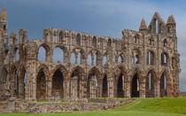 Whitby Abbey 3 by John Biggadike
