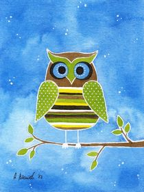 Owl by Anna Bieniek