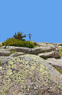 Gipfelkreuz von Wolfgang Dufner