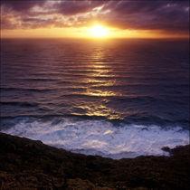 Pacific Sunset von Eugene Zhulkov